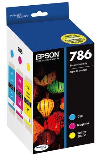 Epson T786520 DURABrite Ultra Standard-Capacity Color Ink Cartridge, Multipack