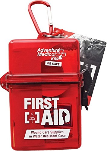 Day First Aid Kit - Adventure Medical Kits Adventure First Aid, Water-Resistant First Aid Kit, 0.18 Pound