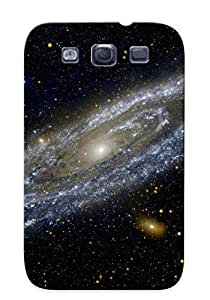 Chistmas' Gift - Cute Appearance Cover/tpu PojcHRf4875PGPIm Spiral Scifi Space Galaxy Stars Universe Case For Galaxy S3