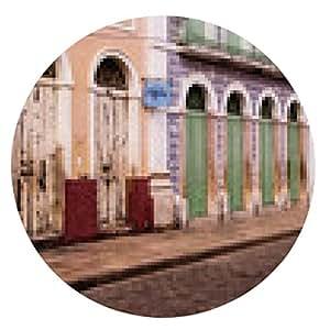 alfombrilla de ratón Sao Luis, ciudad colonial brasileña - ronda - 20cm