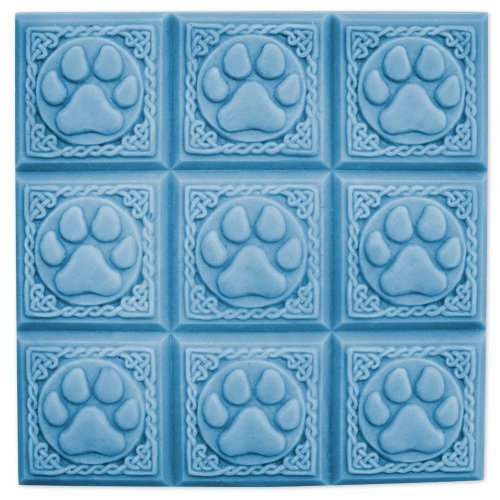 (Milky Way Paw Prints Soap Mold Tray - Melt and Pour - Cold Process - Clear PVC - Not Silicone - MW 37 )