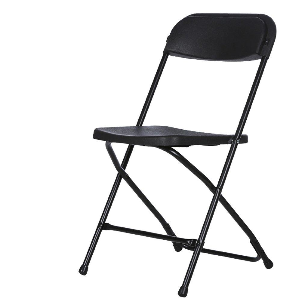 SH-Chairs Sedie Pieghevoli Sedie a Pieghe di plastica Sedie per Ufficio Sedie per Ufficio Sedie per Ufficio Sedie per Ufficio Sedie per Ufficio Sedie per Ufficio Sedie per Ufficio (colore   Nero)