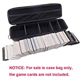 COMECASE Card Case Storage Bag Collection, Holds Up to 1500 Cards, Portable Game Card Holder Shoulder Bag Perfect for Cards Against Humanity,PM TCG Cards, Monopoly Deal, Top Trumps etc