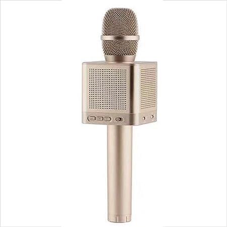 5GHjkj Micrófono inalámbrico Bluetooth Teléfono móvil Ordenador Karaoke Micrófono en Vivo (Color : Oro): Amazon.es: Hogar
