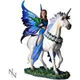 Nemesis Now Anne Stokes Realm of Enchantment Statue Fantasy Gothic Fairy Unicorn by ANNE STOKES