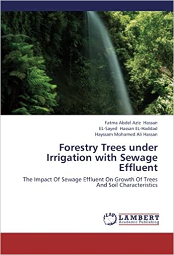 Forestry Trees Under Irrigation With Sewage Effluent The Impact Of On Growth And Soil Characteristics Fatma Abdel Aziz Hassan