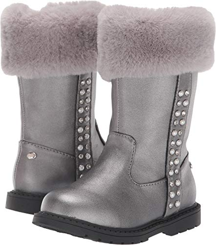 Naturino Express Baby Girl's Horatia (Toddler/Little Kid) Silver 11 M US Little Kid