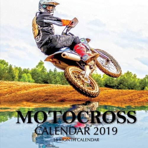 Motocross Calendar 2019: 16 Month Calendar (Girls Calendar Motocross)