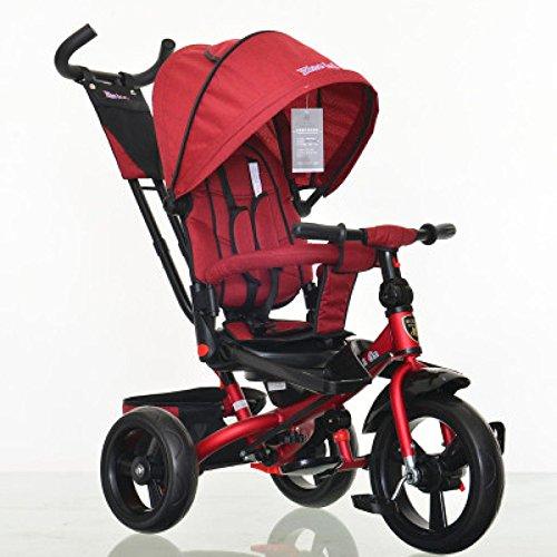 QXMEI La Bicicleta De Triciclo para Niños DE 1-3 A 6 Años De Edad Puede Tumbarse Y Sentarse En El Carrito De Bicicleta para...