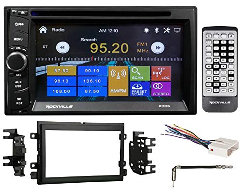 6.2'' DVD/iPhone/Bluetooth/USB Receiver Stereo Radio For 2007-2008 Ford F-150