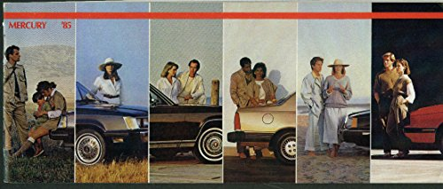 1985 Mercury Grand Marquis Cougar XR-7 Topaz Lynx Capri sales ()