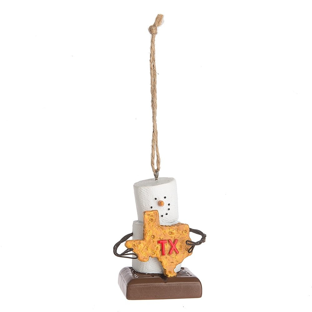 S'Mores I Love Texas Christmas/ Everyday Ornament