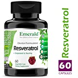 Cheap Resveratrol – 250 mg Hi-Potency – Helps Stimulate Heart Health, Promotes Good Circulation, Improves Blood Sugar Health – Emerald Laboratories (Fruitrients) – 60 Vegetable Capsules