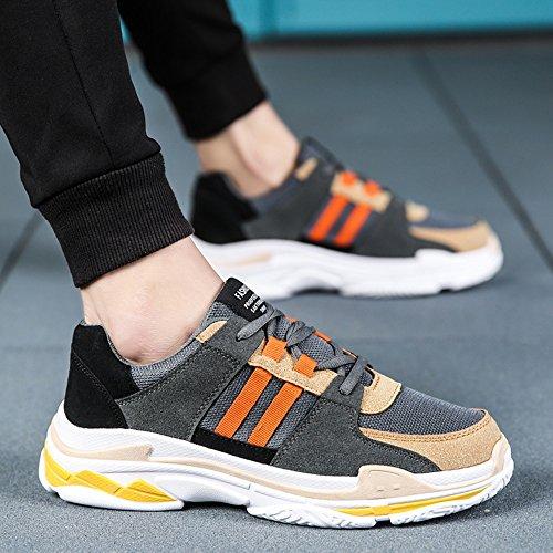 CN39 Shoes Colors Color Spring Movement Leisure Breathable and Tide Shoes UK6 Size EU39 Feifei 3 01 Autumn Men's TAdnPSUT