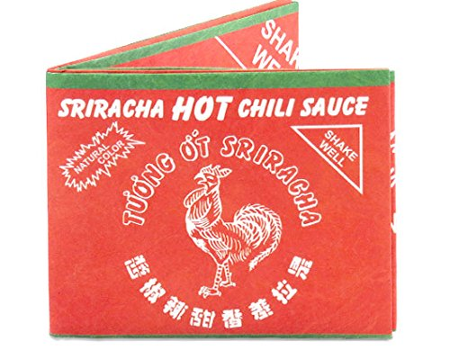 Dynomighty Men's Mighty Wallet Sriracha, Multi, One Size
