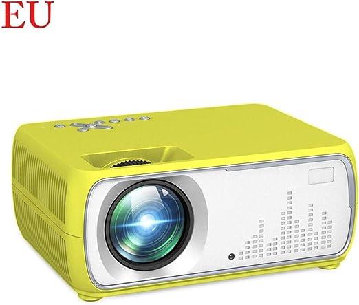 ZY123 Mini Proyector, Mini Proyector Portátil HD 1080P Portátil ...