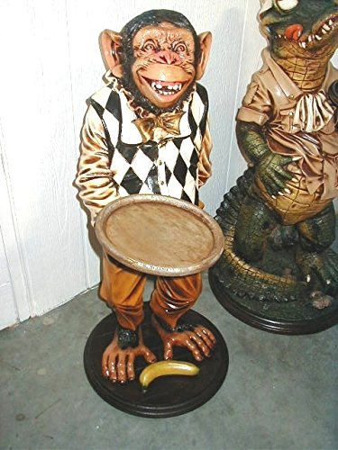 LM Treasures Animal Butler Monkey Prop Decor Resin Statue by LM Treasures (Image #6)