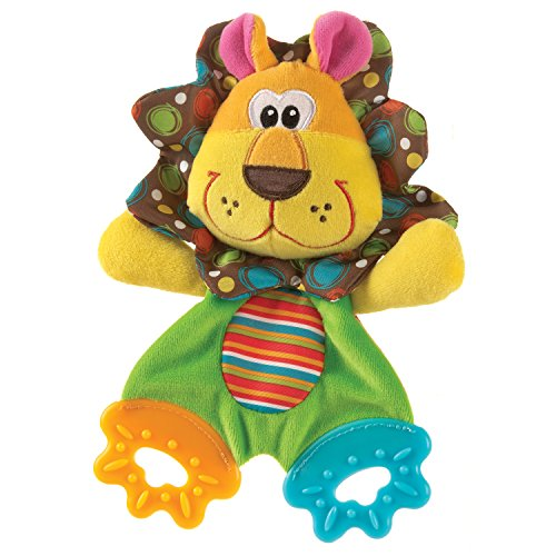 Playgro 0183152 Roary the Lion Teething Blankie for (Genie Stem)