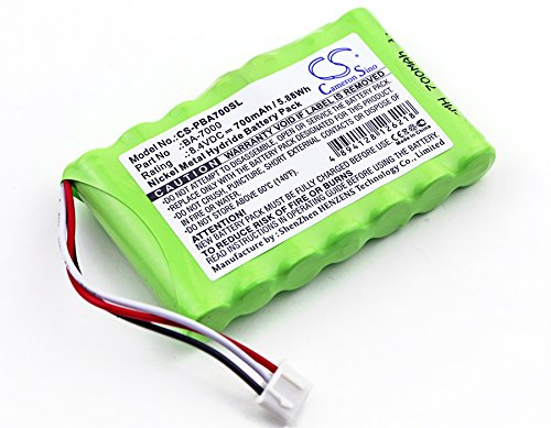 Cameron Sino Replacement Rechargeable Battery fit for Brother P-Touch, Brother P-Touch 7600VP (700mAh)