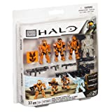 Mega Bloks Halo UNSC Combat Orange Unit Toy Building Playset