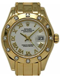 Masterpiece Swiss-Automatic Female Watch 69318 (Certified Pre-Owned)
