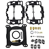 800 cfm carburetor - iFJF Carburetor Rebuild Kit for Edelbrock 1400 1404 1405 1406 1407 1409 1411 1477 fit Automotive 500 600 650 700 750 & 800 CFM Weber Marine Carburetor Mercruiser kit # 809064 Carter 9000 Series 4 BBL