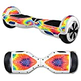MightySkins Protective Vinyl Skin Decal for Hover Board Self Balancing Scooter mini 2 wheel x1 razor wrap cover sticker Tie Dye 2