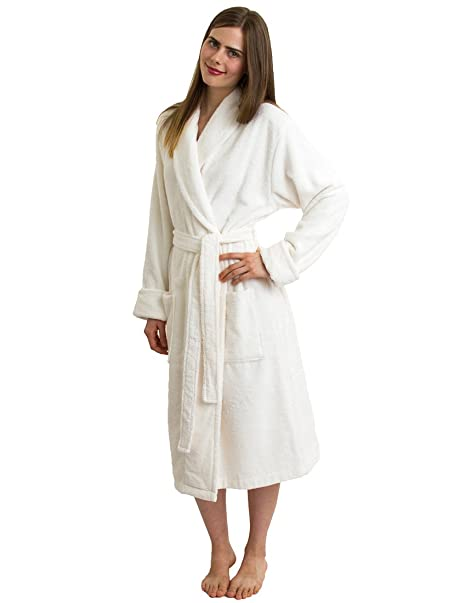 95a4d6b03b TowelSelections Turkish Terry Bathrobe - Luxury Robe for Women and ...