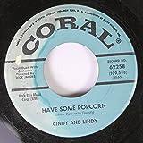 lindy popcorn - Cindy and Lindy 45 RPM Have Some Popcorn / Matelot
