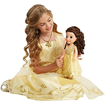 How To Create Belles Hairstyle From Beauty And The Beast : Amazon.com: disney beauty and the beast live action baby belle