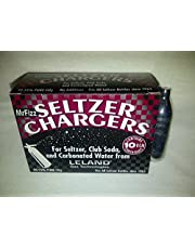 40 Leland (LE10 CO2) CO2 soda chargers - 8g C02 seltzer water cartridges - 4 boxes of 10 by Leland