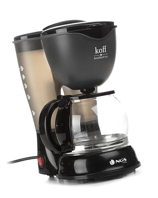 NGS KOFF - Cafetera de filtro permanente, 4-6 tazas