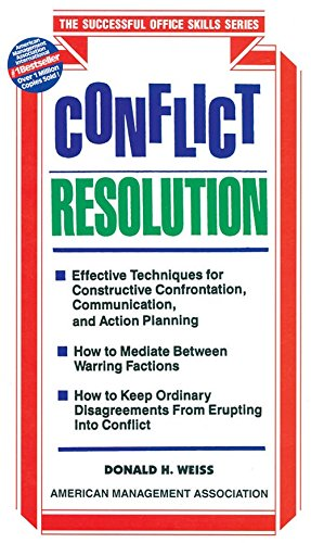 Conflict Resolution PDF