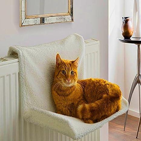 Hamaca para radiador de gato con marco pequeño para mascota, cama para cachorro, perro