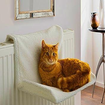 Hamaca para radiador de gato con marco pequeño para mascota, cama ...