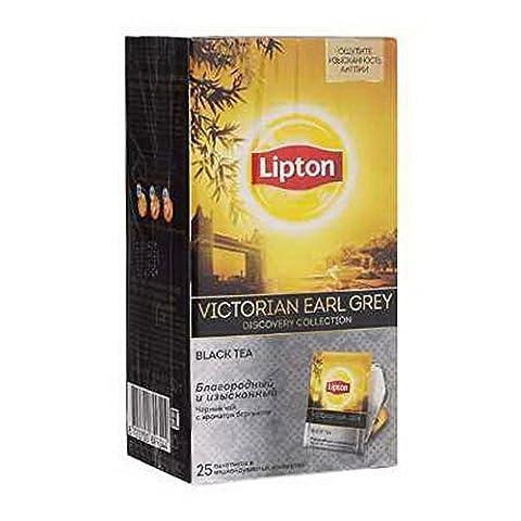 Lipton Tea Discovery Collection 25 tea bags (Victorian Earl Grey Black Tea) - Victorian Earl Grey Tea