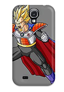 New Style 3111012K17060226 Premium King Vegeta Heavy-duty Protection Case For Galaxy S4