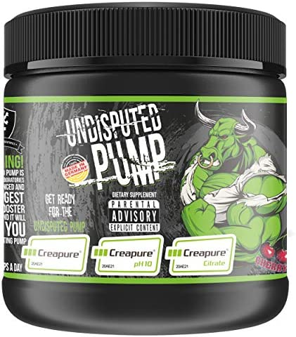 Undisputed Pump Booster I Pre Workout I Booster I Fitness I Pump I Trainingsbooster I Bodybuilding I Creapure® I Creatin I R-ALA I AAKG (400g - Peach Ice Tea)