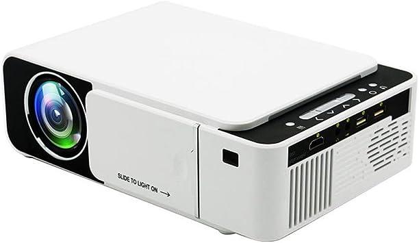 Home Projector, T5 Proyector portátil de alta definición 1080P ...