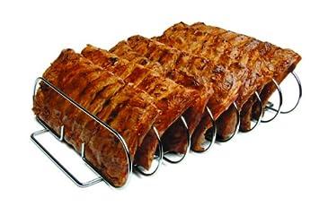 Spareribs Gasgrill Outdoorchef : Cadac 98825 grillständer für rippchen: amazon.de: garten