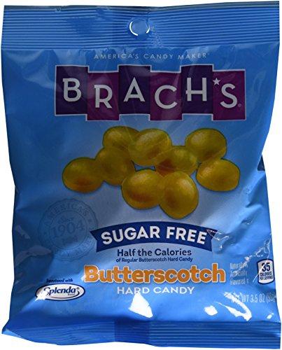 Brach's Butterscotch Hard Candy, Sugar Free, 3.5 Ounce (Pack of 12)