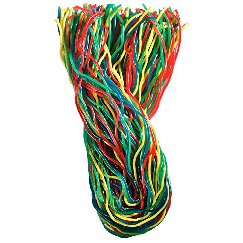 Gustafs Licorice - Gustaf's Rainbow Laces, 2-Pound Bags (Pack of 3)