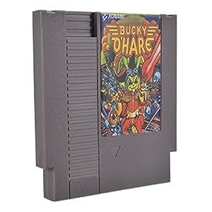 Bucky O'Hare 72 Pin 8 Bit Game Card Cartridge for NES Nintendo