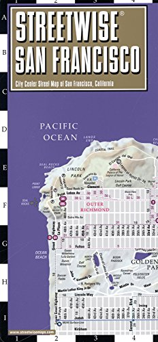 Streetwise San Francisco Map - Laminated City Center Street Map of San Francisco, California (Michelin Streetwise - Powell Francisco Street San