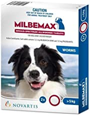 Milbemax Allwormer Tablets for Dogs Over 5kg - 2 Pack