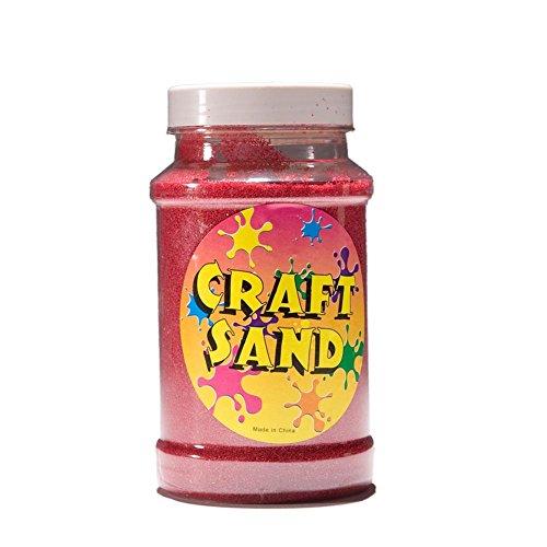 Craft Sand (Red) Party (Halloween Sand Art Bottles)
