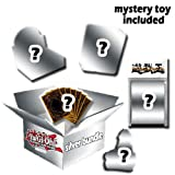 REALGOODEALYUGIOH MYSTERY BOX-Silver Edition-15 Random Yugioh Booster packs -2 Yugioh Deck (no box)-3 Special Edition-91 Yugioh Cards Lot-Free Exclusive Realgoodeal special Yugioh Sleeves and Deck Box