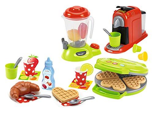Ecoiffier 2624 - Frühstücks-Set mit Waffeleisen