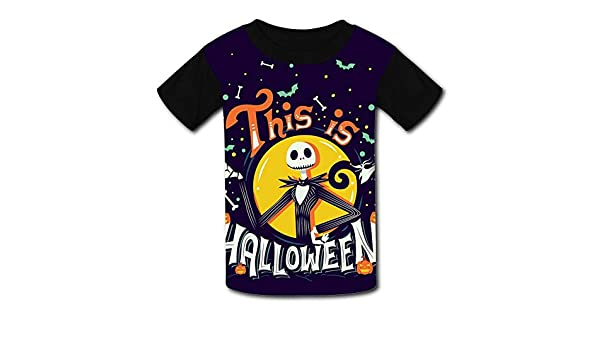 UANKO The-Nightmare-Before-Christmas Childrens Summer Short Sleeve Printing T-Shirts {Size/_Name}