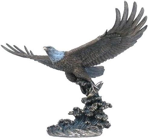 Unicorn Studios WU74876A4 Eagle Catching Fish Sculpture